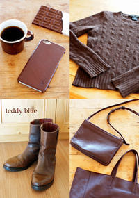 love chocolate brown  チョコレートブラウン♡ - teddy blue