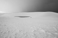 雪の鳥取砂丘* - アオイソラ