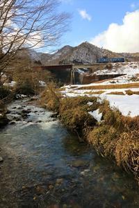 残雪 - 今日も丹後鉄道