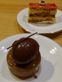 リキュール、ガツン!大人ケーキ @ 尾山台 - チョコミントは好きですか?