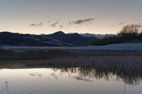 二上山の日の出 - katsuのヘタッピ風景