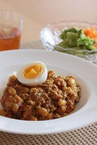 大豆入りキーマカレー - こなみのおいしいキッチン