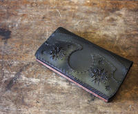 Long Wallet GRUS BLACK / ojaga design - bambooforest blog