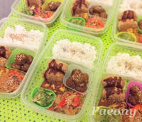 2月 お弁当  Lunch boxes in February - オランダ日本生活便り☆