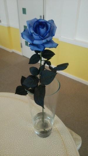 青い薔薇( ´∀`) - 脱毛・ネイル専門アンジェリ・スタッフブログ
