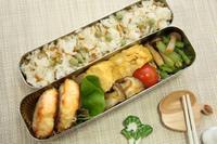 鮭曜日の鮭バーグ弁当 - おばちゃんとこのフーフー(夫婦)ごはん