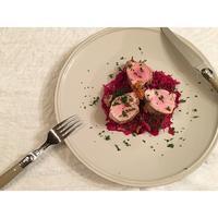 紫キャベツと豚ヒレ肉の白ワイン蒸し - Feeling Cuisine.com
