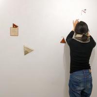 rishtaの革のもの展@搬入 - gallery 子の星