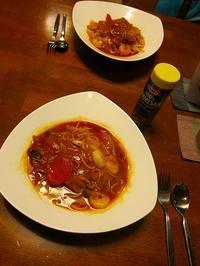 トマトスープパスタ - ごまめのつぶやき