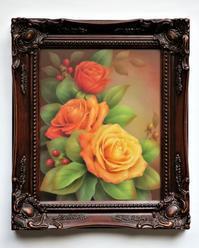 写真で解説 バラと花のトールペイント 掲載作品です。 - 大畑悦子の想い出ペインティング