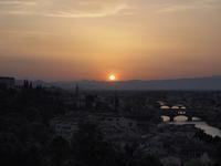 フィレンツェの夕日とプロポーズ イタリア旅行2015(13) - la carte de voyage
