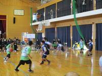 20170219練習試合 - 日出ミニバスケットボール