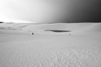 雪の砂丘** - アオイソラ