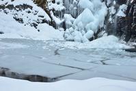 雪景色の谷  白倉又谷 - 峰さんの山あるき