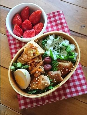 2.20 レンコン肉巻き弁当 - YUKA'sレシピ♪