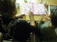 おばあちゃんとの時間 - 野草を摘みに