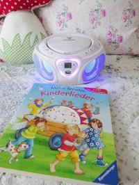 子供部屋用のCDプレイヤー☆ - ドイツより、素敵なものに囲まれて
