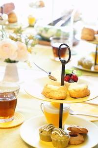 今日もアフタヌーンティー -         川崎市のお料理教室 *おいしい table*        家庭で簡単おもてなし♪