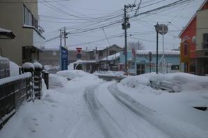 2月21日・米沢の今朝の最低気温は-1.7℃&積雪状態 - 米沢より愛をこめて・・