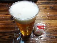 イチゴ大福とビール♪(福岡空港) - よく飲むオバチャン☆本日のメニュー