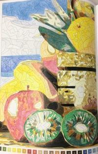 大人気!パズルぬりえ 指定の色がないときの代用色 - オトナのぬりえ『ひみつの花園』オフィシャル・ブログ
