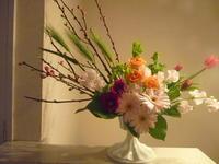 ひなまつり - 花に親しむ(フラワーデザイン)