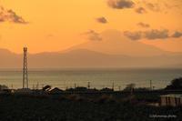 キャベツ畑と海と富士。 - *ぷるはあと*