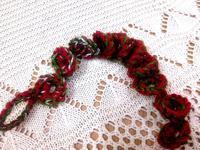 ☆まぁるいドロップがいっぱい・続けて編み編み☆ - ガジャのねーさんの  空をみあげて☆ Hazle cucu ☆