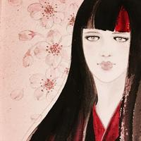 【ART FORCE】「春・桜🌸そして思い出」展 - 書家KORINの墨遊びな日々ー書いたり描いたり
