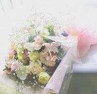 春色の花束 - きらら・花だより ベイエリア・海浜幕張の花屋