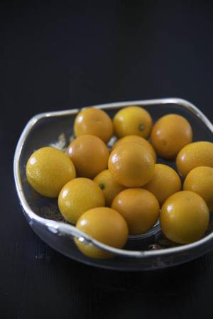 金柑のふわふわゼリー - 食卓の風・・・
