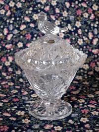 小鳥のガラスのトリンケット・ボックス -  Der Liebling ~蚤の市フリークの雑貨手帖2冊目~