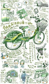 #台南はいいぞ 台南市公共自行車T-Bike体験 - 週間山崎絵日和