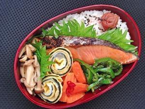 2/22 鮭弁当 - ひとりぼっちランチ