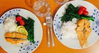 スゥエーデン風サーモンのグリル - ロンドンの食卓