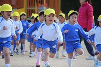 かけっこ(ひまわり) - 慶応幼稚園ブログ【未来の子どもたちへ ~Dream Can Do!Reality Can Do!!~】