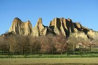 アルノ渓谷の絶壁、トスカーナ - ペルージャ イタリア語・日本語教師 なおこのブログ - Fotoblog da Perugia