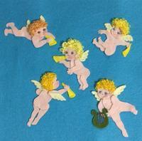 フェルト絵本製作中「天使の1ページ」 - SAKOmama  布絵本工房
