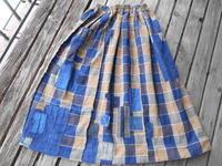 いずれはサルエルに(6巾で)・・色彩が重いので上は軽めがいいかも - 藍ちくちく日記