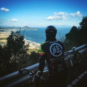 大坂峠から小豆島が見えた - 自転車コギコギ日記