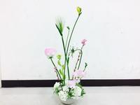 春のアレンジ☆ - Flower Days ~yucco*のフラワーレッスン&プリザーブドフラワー~