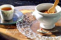 ゆっくり朝ご飯 - カエルのバヴァルダージュな時間