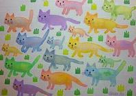 猫の日 - 水の色時間