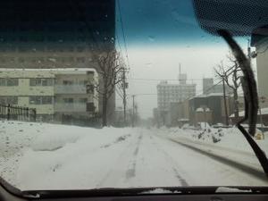 地吹雪の日 -