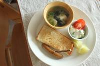 グリーンピース入りのポテサラ と ほほ6歳のお弁当 - はぐくむキッチン