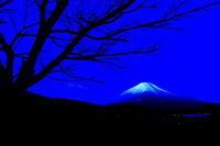 29年2月の富士(20)夜明けの富士 - 富士への散歩道 ~撮影記~