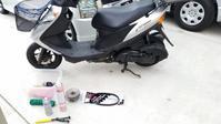 アドレスV125G 駆動系クラッチASSY交換 - 近江ポタレレ日記(琵琶湖)自転車二人旅