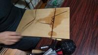 籠編み教室  2月 2 - 古布や麻の葉