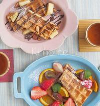 ワッフルの朝ごはん - 陶器通販・益子焼 雑貨手作り陶器のサイトショップ 木のねのブログ