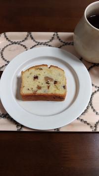 くるみとチョコのパウンドケーキ - おやつ好きの生活